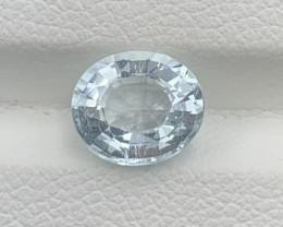 1.62 Carats Aquamarine Gemstones
