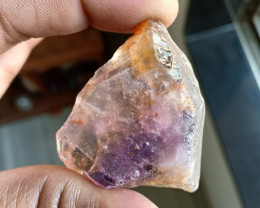 133 Ct HUGE AMETRINE GEMSTONE in Rough form VA4359