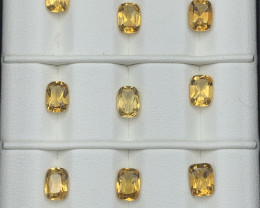 12.86 Carats Citrine  Gemstones