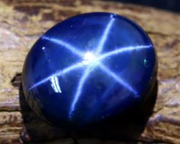 Blue Star Sapphire 14.13Ct Natural 6 Rays Blue Star Sapphire C0215