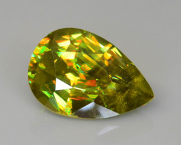 Imperial Sphene  4.72 ct AAA Fire Madagascar Mined Untreated  Sku-75