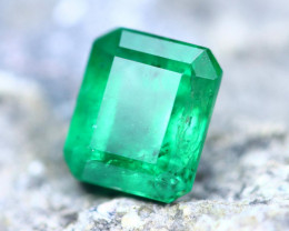 3.76cts Natural Zambian Top Quality Green Emerald / ET420