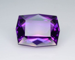 AAA Cut & Color 9.60 ct Untreated Amethyst ~ K