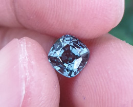 UNHEATED 1.17 CTS NATURAL BEAUTIFUL VS GREYISH GREEN SPINEL MOGAK BURMA