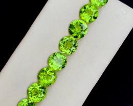12.60 cts Olivine Green Peridot Gemstone Lot