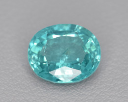 Natural Apatite 2.56 Cts Excellent Paraiba Color Gemstone