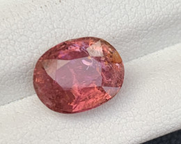 3.30 Carats Brown Peach Color Tourmaline Gemstones