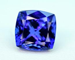 4.77carat Top Color Tanzanite Cut Gemstone