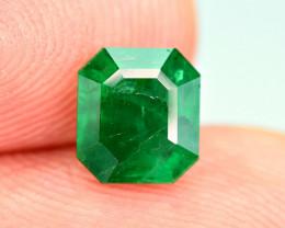 0.92Carat Top Color Panjshir Emerald Cut Gemstone
