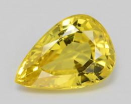 Yellow Sapphire 1.01 Cts Amazing Rare Natural Fancy Loose Gemstone