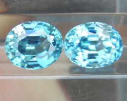 4.09cts Blue Zircon from Cambodia