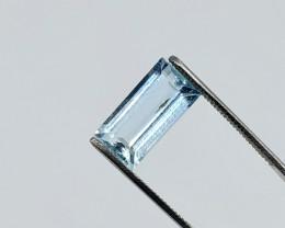 FLAWLESS 2.550 CT PALE BLUE AQUAMARINE *ON SALE $360*