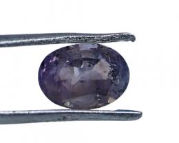 NR!! 0.80 CTs GGTI Certified~ Light Purple Sapphire Gemstone