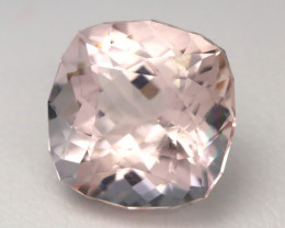 4.41Ct Natural Sweet Pink Morganite VVS Pink Beryl Madagascar A0302