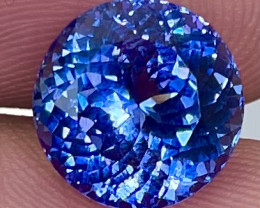 5.85 CT AAA Excellent Cut Rare Violet Blue Tanzanite - TNS05