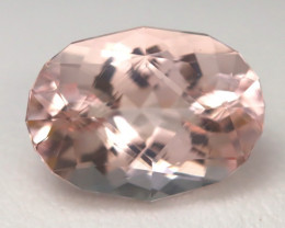 3.37Ct Natural Morganite Candy Pink Master Cutting Piece A0306