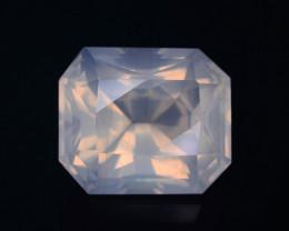 Rare Peach Pink 20.90 ct Feldspar Moonstone~Fancy Cut