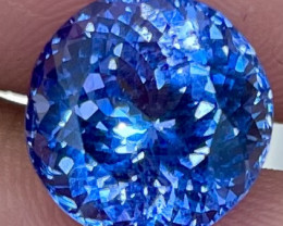 6.00 CT Master Cut !!Gem Quality Rare Violet Blue Tanzanite - TNS20