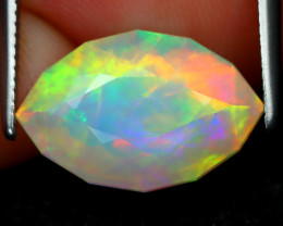 Welo Opal 2.91Ct Master Cut Natural Ethiopian Flash Welo Opal C0314