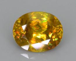 Rare AAA Fire 1.56 ct Malayaite Sphene Sku-76