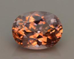 Pink Turkish Diaspore 3.43 ct Natural Color Shift Untreated SKU-15