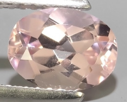 1.20 Cts wow Pale pink Oval Shape Moganite