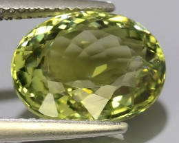 6.65 Cts EXQUISITE  GREEN NATURAL TOURMALINE