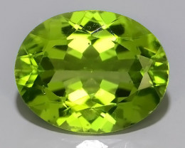3.70 CTS FINE JEWELRY NICE GREEN PERIDOT EXCELLENT GEMSTONE!!
