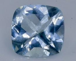 1.90 Crt Natural  Aquamarine Faceted Gemstone.( AB 96)