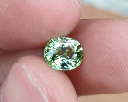NO HEAT 1.29 CTS GORGEOUS VS MINT GREEN TOURMALINE MOZAMBIQUE