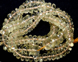 98 CTS SUNSTONE DRILLED FACETED BEADS NP-2774