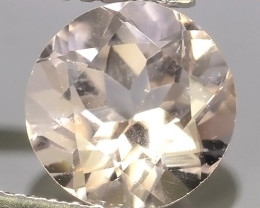 2.00 CTS EXCELLENT NATURAL LUSTER-PEACH~PINK MORGANITE ROUND GEM!!