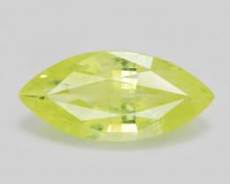 Chrysoberyl 1.58 Cts Very Rare Yellowish Green Color Natural Gemstone