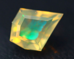 Kite Opal 1.19Ct Natural Ethiopia Flash Color Play Welo Fire Opal A0410