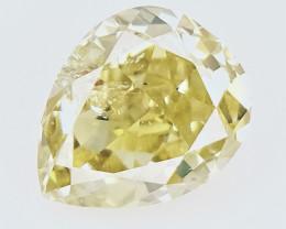 0.17 cts , fancy Color Diamond , Fancy Cut Diamond