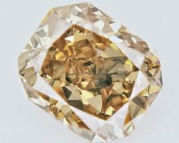 0.70 cts , fancy Color Diamond , Fancy Cut Diamond