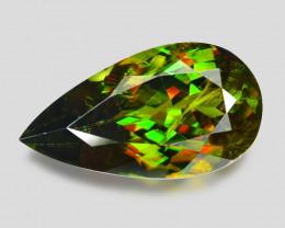 5.88 Ct Chrome Sphene Exceptional Color Pakistan Sph2