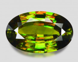 7.65 Ct Chrome Sphene Exceptional Color Pakistan Sph5