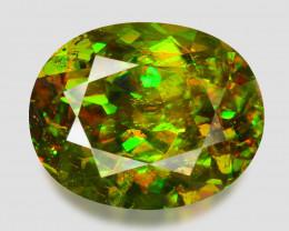 4.83 Ct Chrome Sphene Exceptional Color Pakistan Sph7