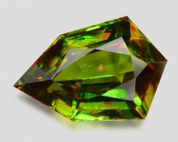 2.30 Ct Chrome Sphene Exceptional Color Pakistan Sph10