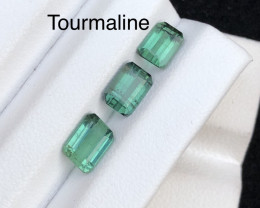 Top Color 3.10 cts Amazing Cut Tourmaline Parcel