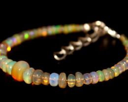 22 Crts Natural Ethiopian Welo opal bracelet 341