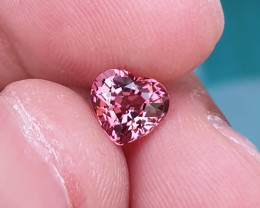 UNHEATED 1.29 CTS NATURAL STUNNING VS PINK TOURMALINE MOZAMBIQUE