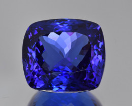 25.38 Cts Natural Tanzanite Jumbo Size Collector's Grade Faceted Gemstone