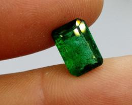 2.94cts Vivid Deep  Emerald , 100% Natural Gemstone