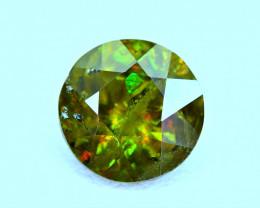 2.90Carat full fire Chrome Color Change Sphene cut Gemstone@Pakistan