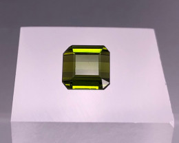 3.10 ct Natrual Green Tourmaline Gem From TOPAZ GEMS