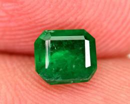 0.60Carat Top Color Panjshir Emerald Cut Gemstone@AFGHAN