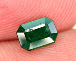 0.52Carat Top Color Swat Emerald Cut Gemstone @Pakistan