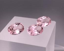 Calibrated Pink Morganite Set from TOPAZ GEMS